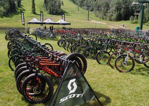 2015 Scott Sports lineup at Deer Valey