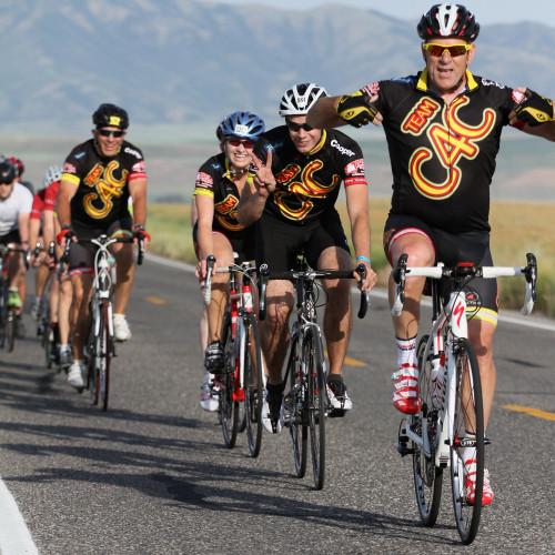 MS bike tour in Utah