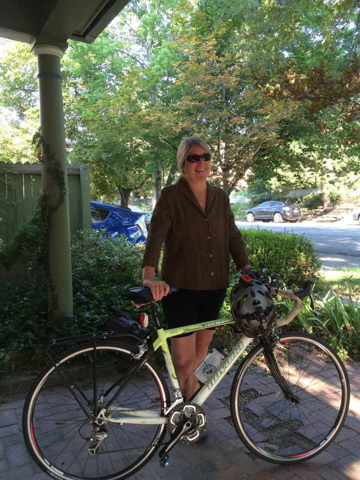 Adrienne Cachelin Combines Sustainability and Cycling