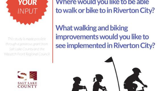 Riverton City, Utah Seeks Input for Biking Study