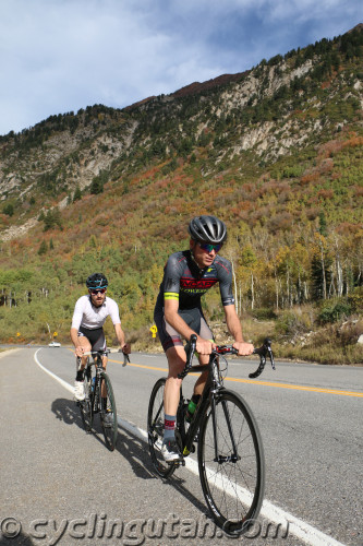 Rob Squire and Chris Mackay finished 1-2 in the 2015 Snowbird Hill Climb. Photo by Dave Iltis