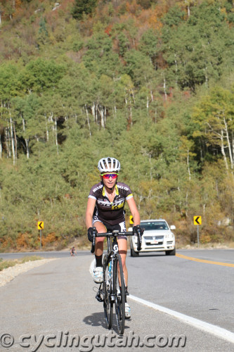 Mikaela Kofman won the women's race in the 2015 Snowbird Hill Climb. Photo by Dave Iltis
