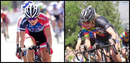 Mia Manganello (Visit Dallas pb Noise4Good), Lauren De Crescenzo (DNA Cycling pb K4)