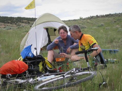 Camping on BLM Land near Craig, Colorado.