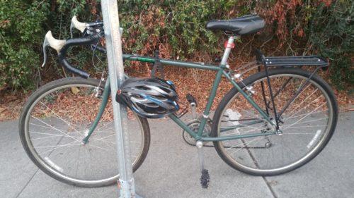 Unlocked bike