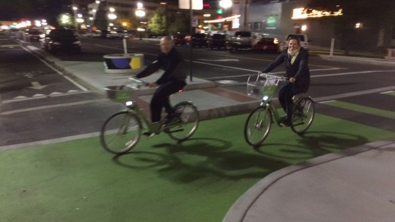 GREENbike For $1 in Salt Lake City on Halloween, Costume Contest