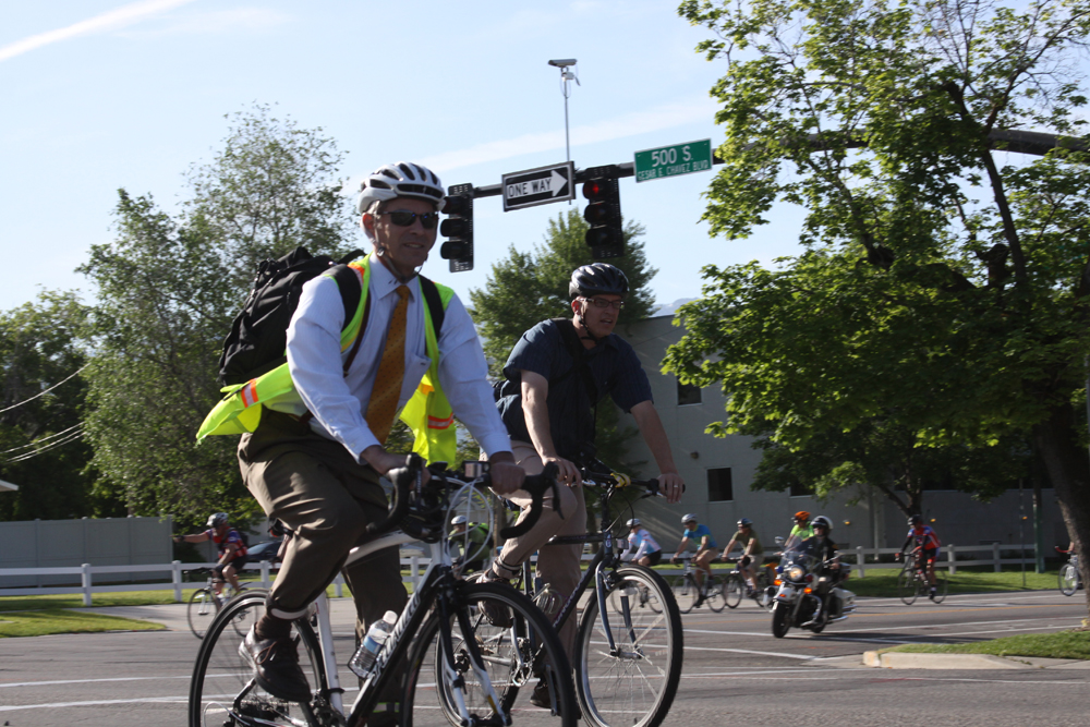 Editorial: Mayor Ralph Becker is the best choice for cyclists in the upcoming 2015 Salt Lake City Mayoral Election. Photo by Dave Iltis