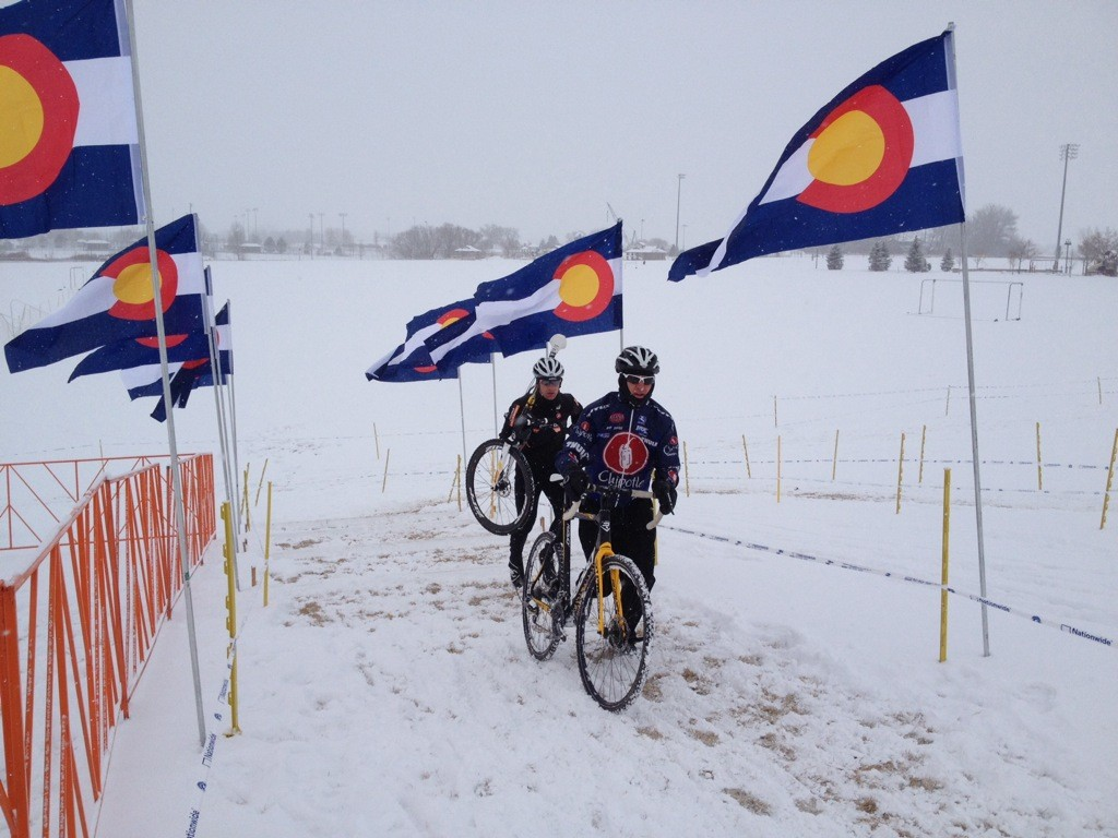 The Rocky Mountain Cyclocross Championships is the race to attend in December. Photo courtesy Brook Watts