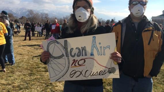 Utah Clean Air No Excuses Rally 2015 Photo Gallery