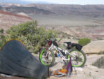 Bikepacking can take you to beautiful places such as Capitol Reef.