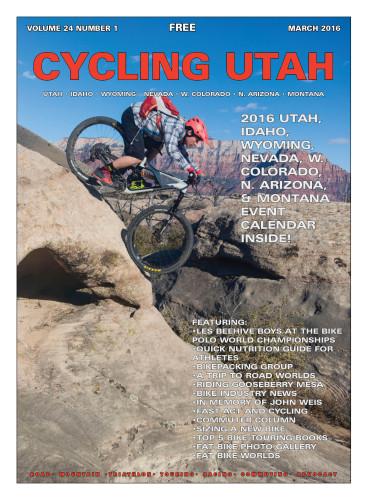 Cover Photo: Trent Stallard rolling the Dead Apprentice on Guacamole near Zion National Park. Photo by Lukas Brinkerhoff