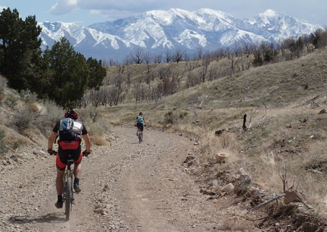 The Wild Horse DIrt Fondo is set for April 30, 2016 in the Cedar Mountains, west of Grantsville, Utah. Photo by Chris Magerl.