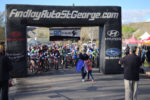 Racers line up for the start of the True Grit.