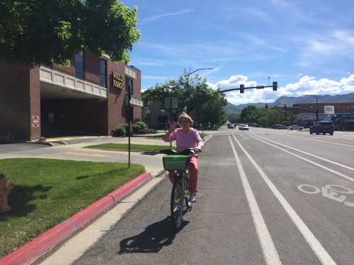 Greenbike is accessible to all riders. Salt Lake City needs infrastructure to match. Photo by Dave Iltis