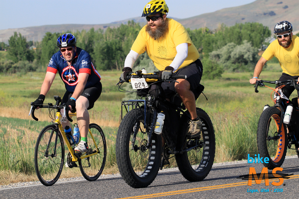 Bikes and riders of all types are welcome at the MS Bike Tour. Photo by Bike MS Utah.