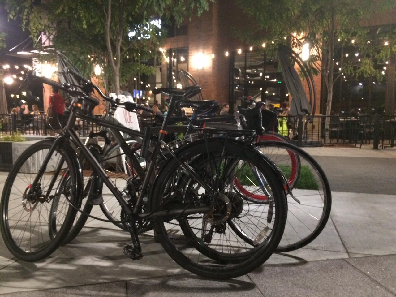 Bikes in Sugarhouse, Salt Lake City. Photo by Dave Iltis