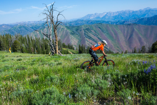 Cody Kelley shown here at the Ride Sun Valley Festival which runs from June 23-26, 2016. Photo by Sean Ryan