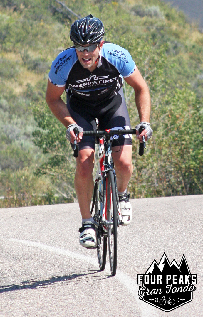 The 4 Peaks Gran Fondo features 4 great climbs in Pocatello, Idaho. It will be held on August 20, 2016. Photo by Nick Call