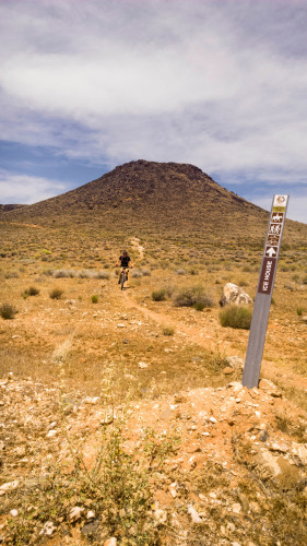 Broken Mesa is a once-a-year trail combing distance, climbs and technical difficulty. Photo by Lukas Brinkerhoff