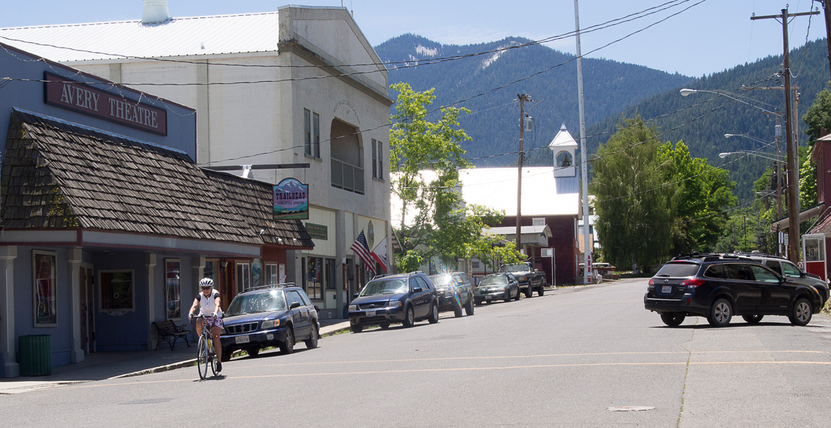 Downtown Etna. Photo by Howard Shafer