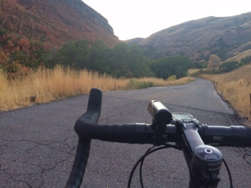 City Creek is a beautiful climb in Salt Lake City that is (mostly) closed to cars. Photo by Dave Iltis