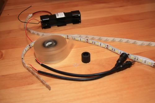 Kit contents plus handlebar tape