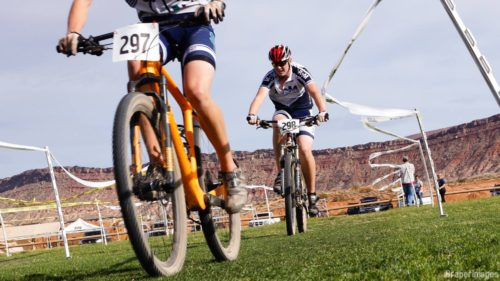 Action at the Southern Utah Cyclocross Series. The 2016 Utah State Championship is coming on Nv. 27th to Staheli Farm in St. George. Photo by Draper Images