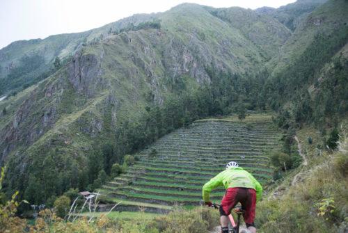 Enduro mountain biking Peru