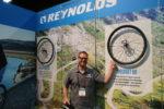 Reynolds Cycling's Joss Dewaele at Interbike 2016. Photo by Dave Iltis