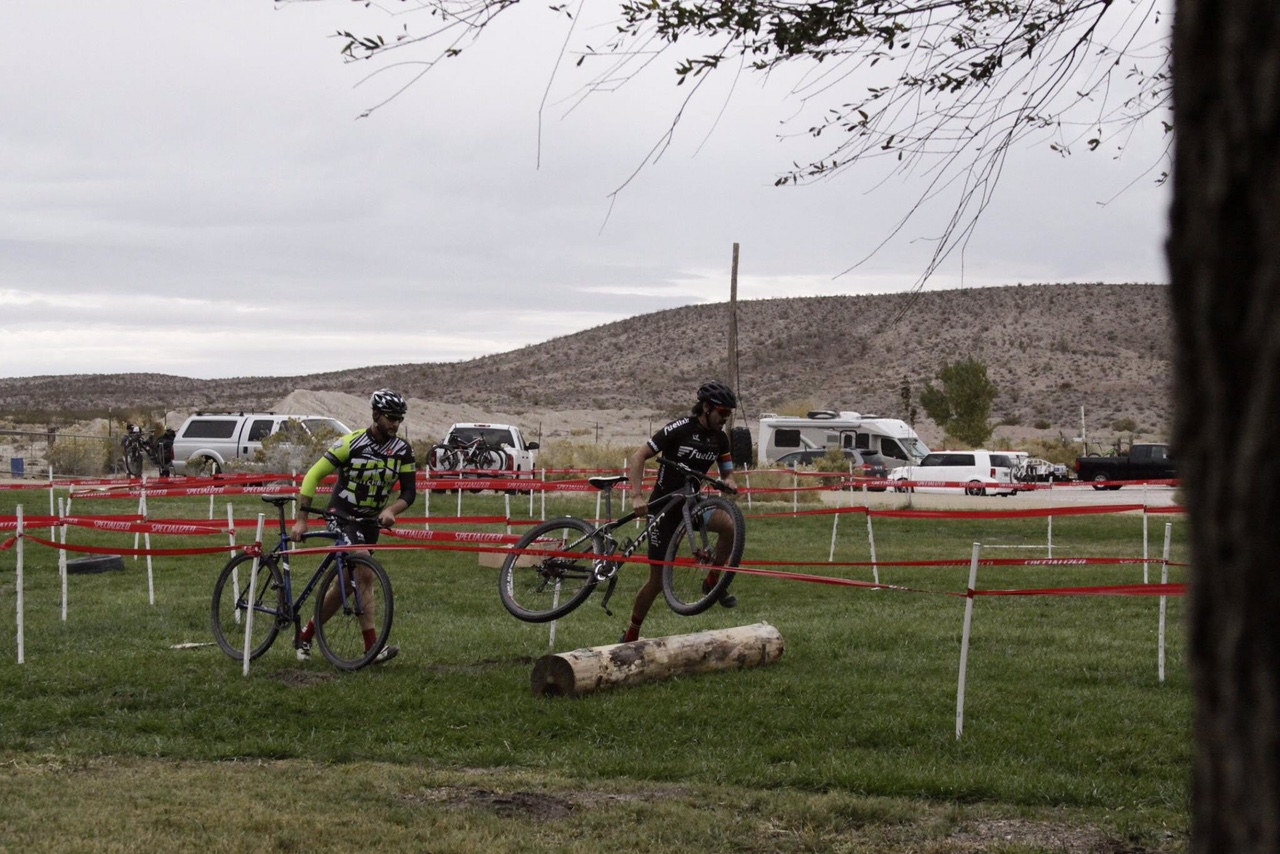 Shots of the Beatty, Nevada Cyclocross course. The venue will be the site of the 2016 Nevada State Cyclocross Championships. Photo by Pablo Quiroga, Fuelixir