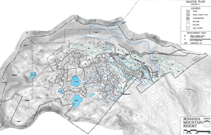 Bonanza Flat Developers Map