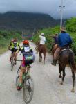 Racing through Cuba. Photo by Shannon Boffeli