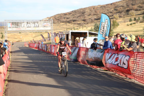 The Utah High School Mountain Bike League is one of the top high school leagues in the country. This image is from the race at Soldier Hollow, Utah on October 22, 2016 Photo by Dave Iltis