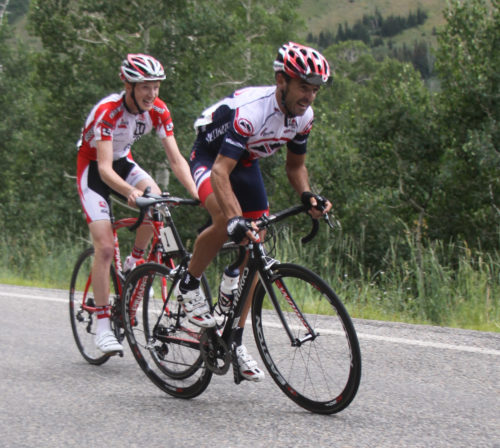 Paco Mancebo finished second overall in the 2010 Tour of Utah, riding for Canyon Bicycles. He returns to the team in 2017. Photo by Dave Iltis