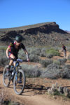 Taylor Lideen on his way to winning the 100 mile race at the 2017 True Grit Mountain Bike Race. Photo by CrawlingSpider.com, find your photo from the race.