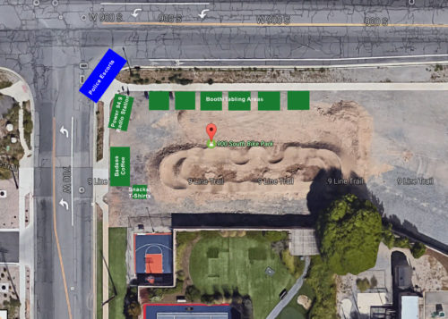 2017 Mayor's Bike To Work Day Event Lay-Out