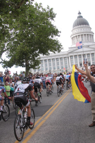The Tour of Utah will see a return to the Utah Capitol Stage. Photo by Dave Iltis