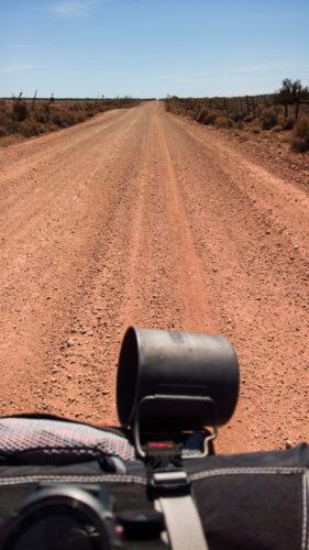Dirt road Dugway Utah