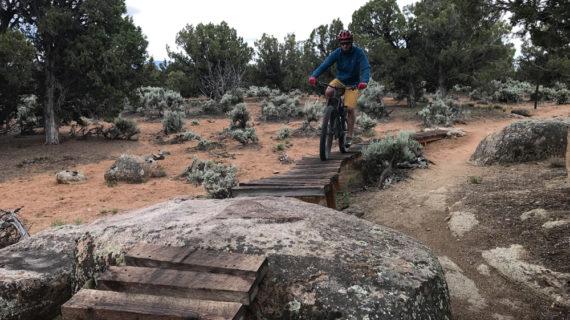 Mountain Biking in Cedar City's Three Peaks Recreational Area is a Hoot!