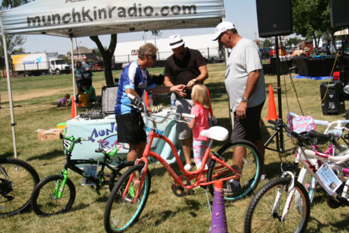 There are lots of fun activities after the ride at the SaharaCares Foundation Festival. Photo Courtesy Parkway Pedal