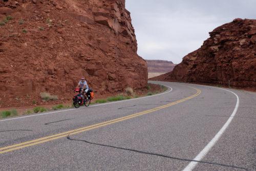 Bike ride near Moab Utah