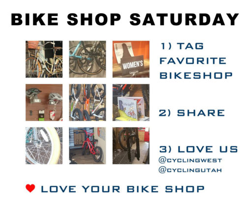 Bike Shop Saturday is a global event held the second Saturday of each December. Come out to your local bike shop and support them.