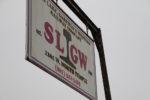 SLGW Railroad sign. Photo by Dave Iltis