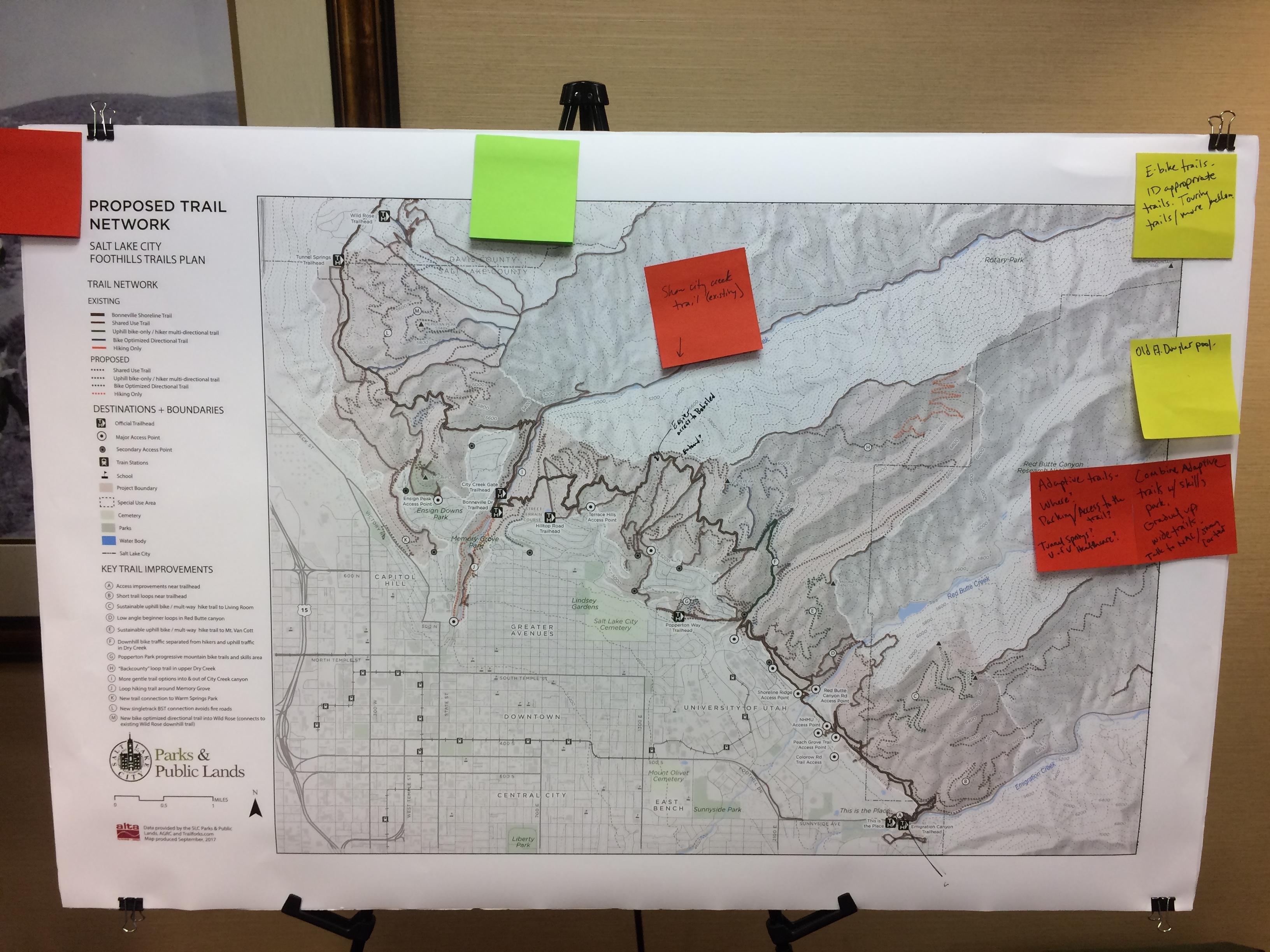 Salt Lake City Mountain Bike Trails PlanIMG_8286