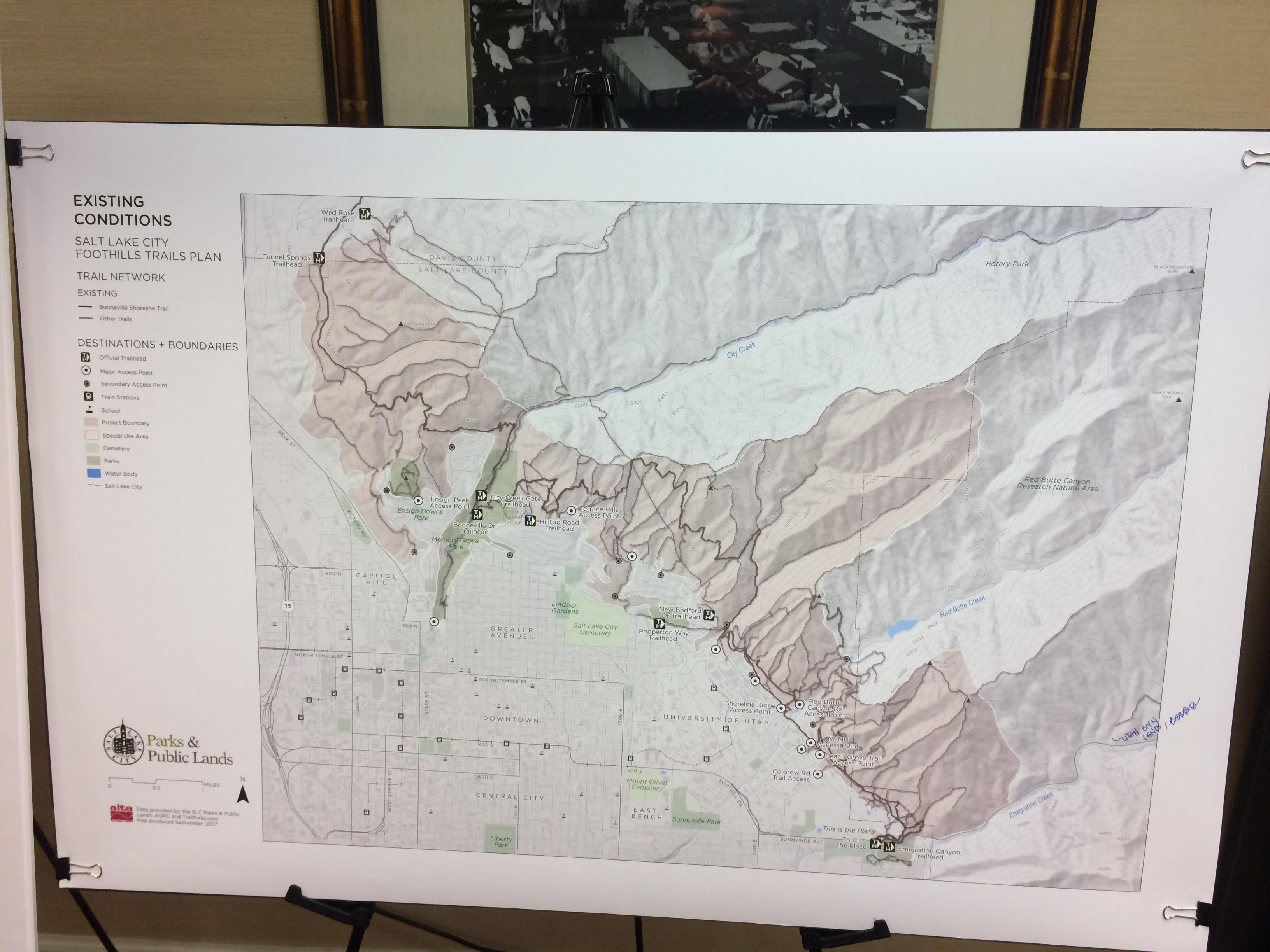 Salt Lake City Mountain Bike Trails PlanIMG_8289