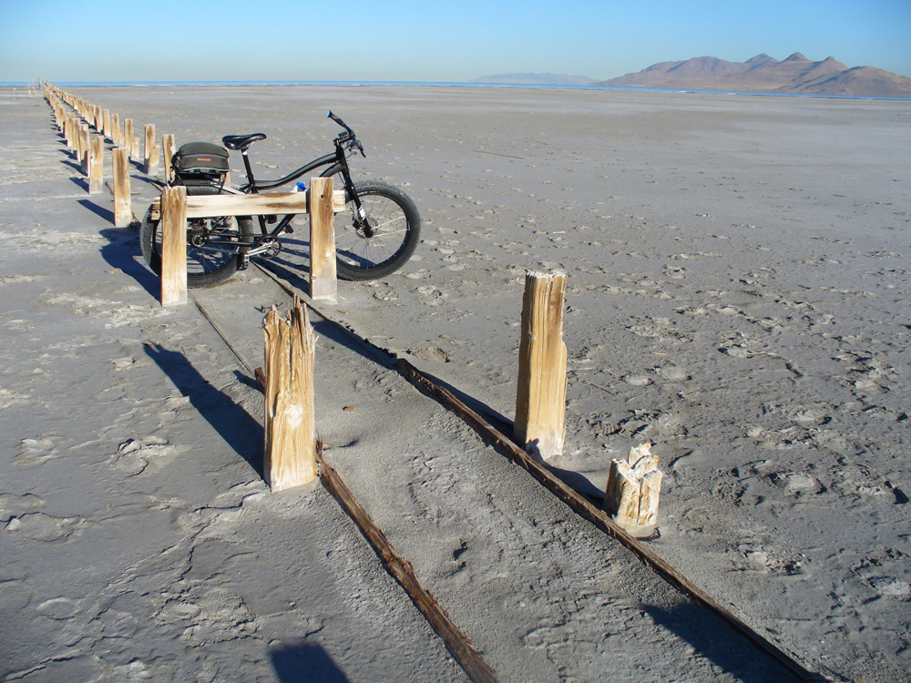 At Old Saltair on the Great Salt Lake.