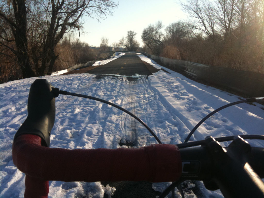 Get your bike ready for winter so it operates smoothly. Photo location: Jordan River Parkway. Photo by Dave Iltis