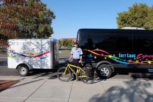 Salt Lake Express Accommodates Bicycles