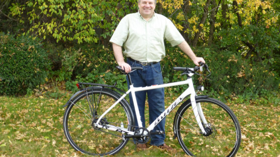 Troy Adair Mixes Public Transit and Biking to Get to Work and to the Trail
