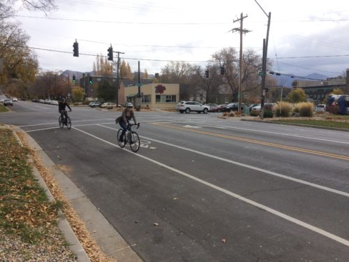 Bike lanes are good for public health. Photo by Dave Iltis